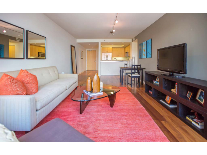 SPACIOUS 1 BEDROOM APARTMENT IN NOB HILL SF